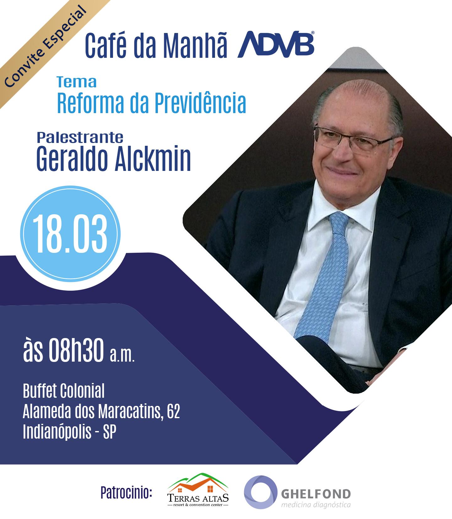 Convite FTN com Geraldo Alckmin