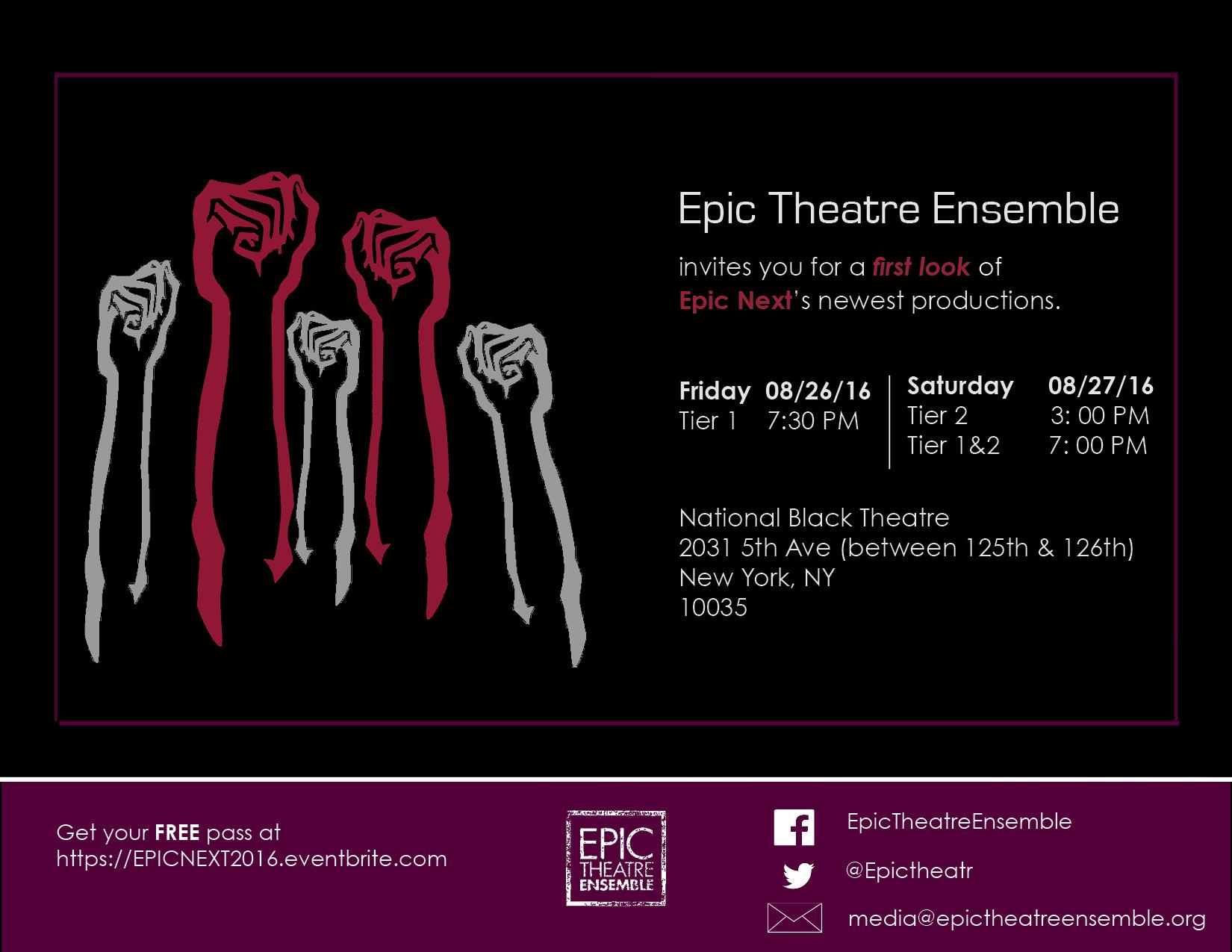 Epic NEXT 2016 Invitation