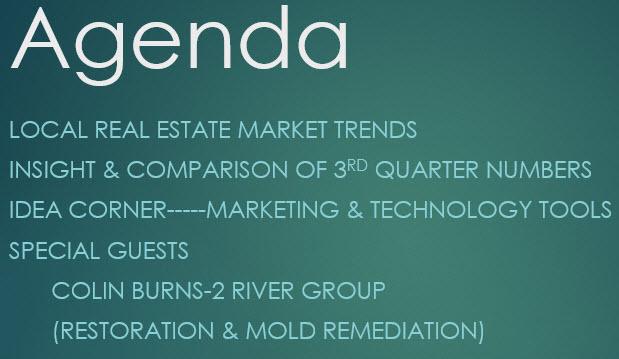 Monthly Office Meeting Agenda