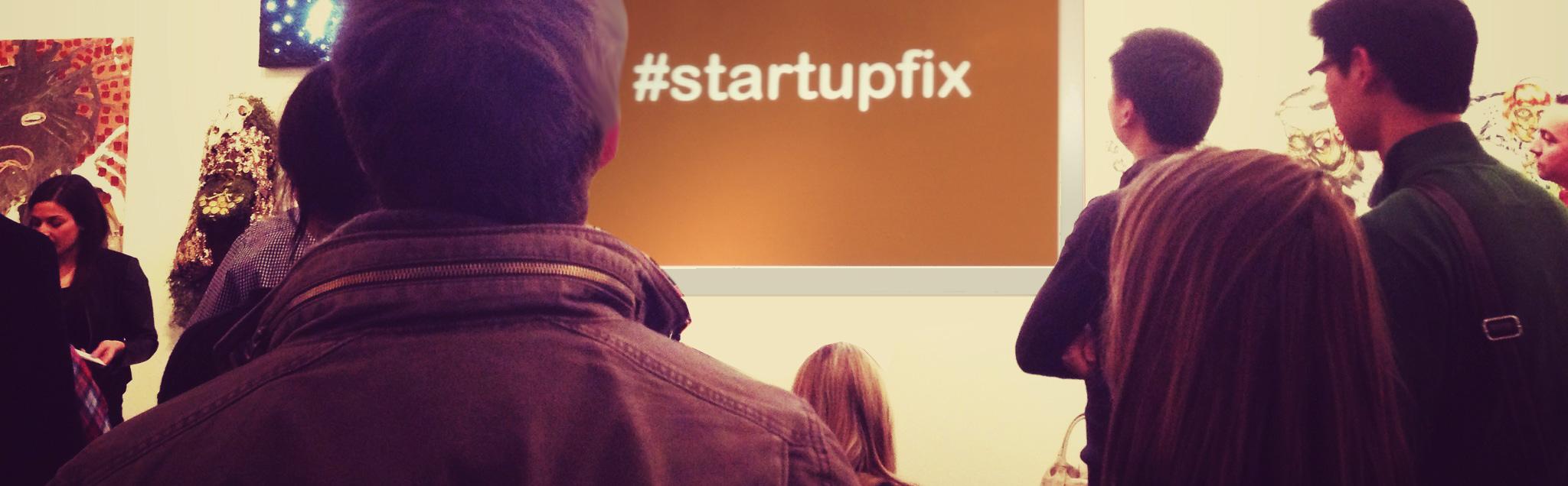 #Startupfix