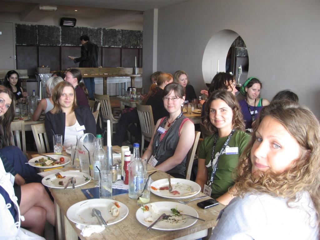 WIGJ lunch at Develop 2010
