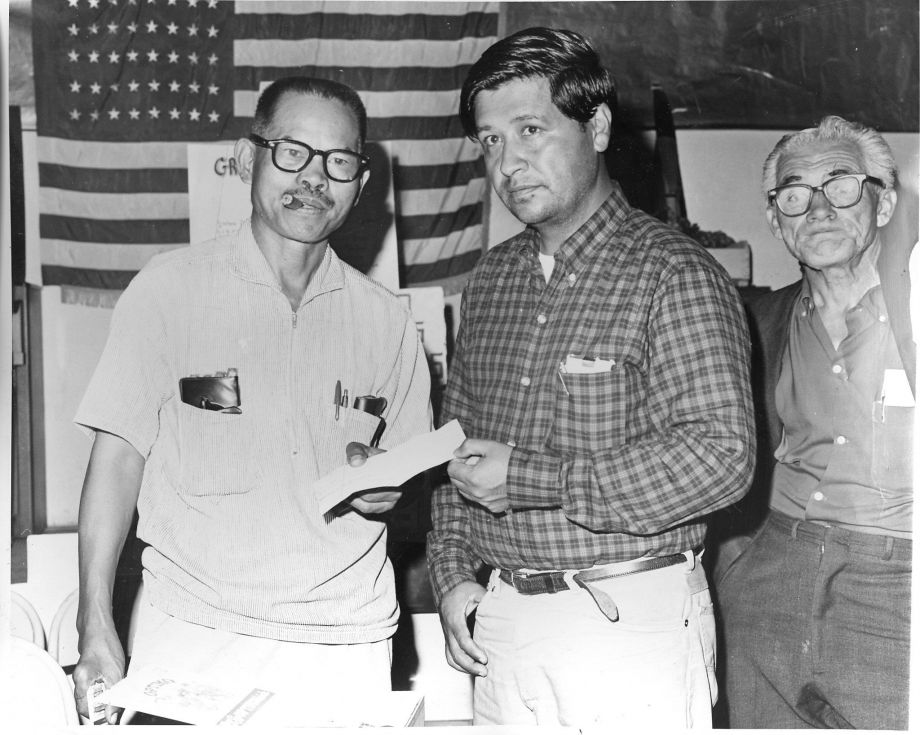 Larry Itliong & Cesar Chavez