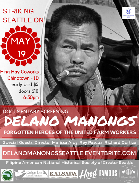 Delano Manongs Seattle Promo