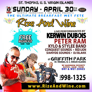 Rize And Wine - Sun. April 30, 2017