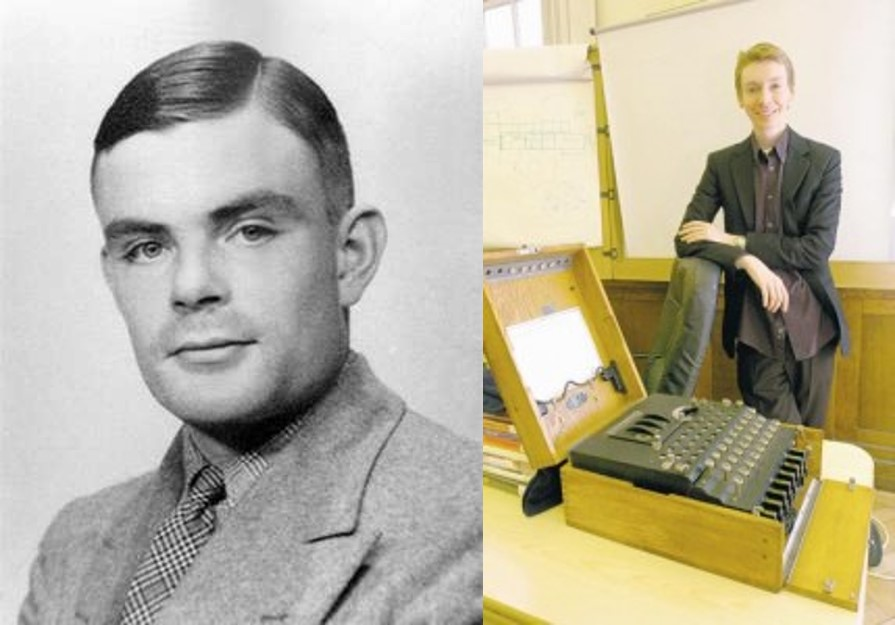 An evening with Alan Turing