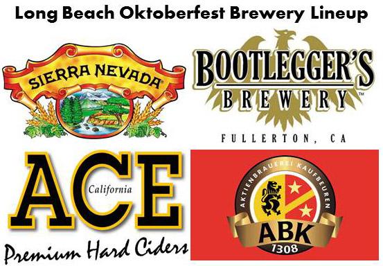 Oktoberfest Brewery Lineup