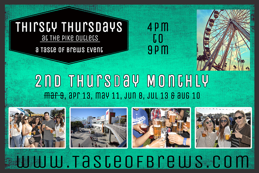 Thirsty Thursdays April