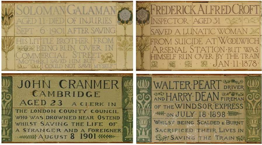 Watts Memorial tiles