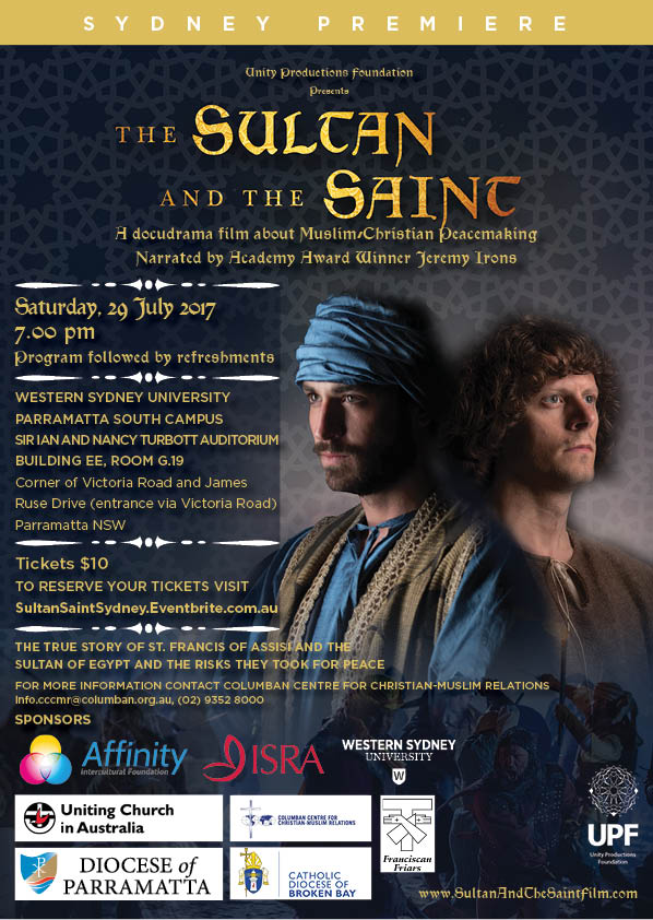 SultanSaintSydney Event Flyer A4