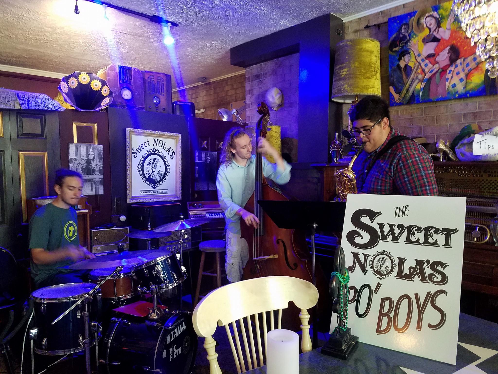 The Sweet NOLA's Po' Boys