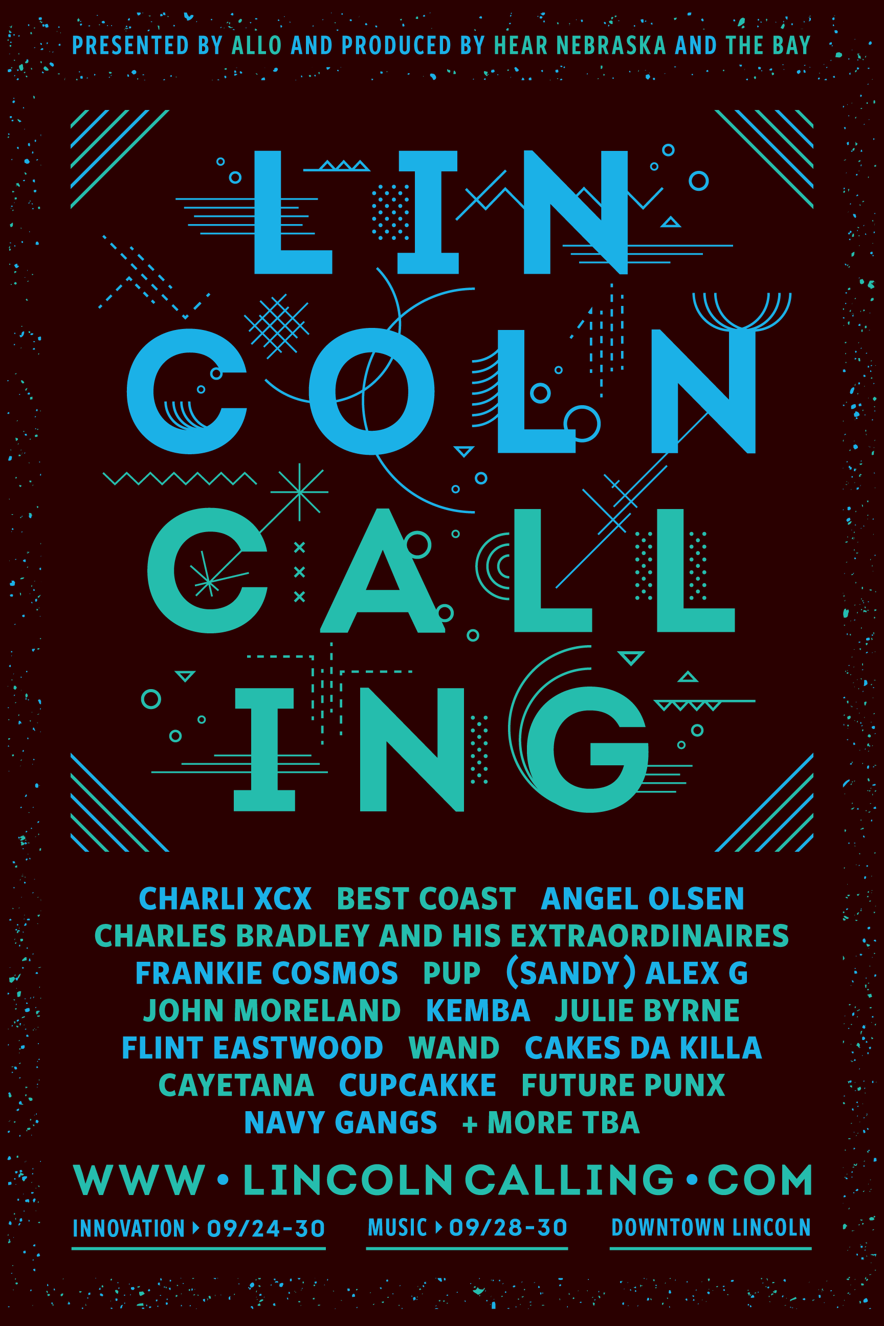 Lincoln Calling 2017 – First Round Announce Poster