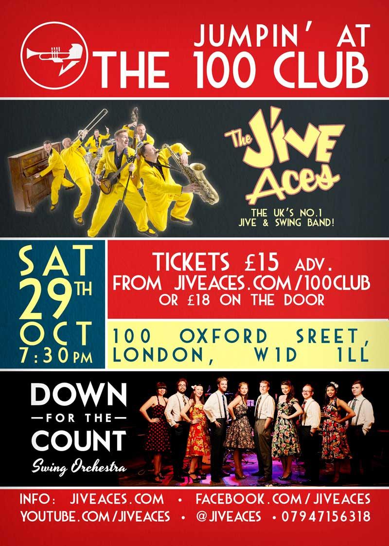 100 Club flyer