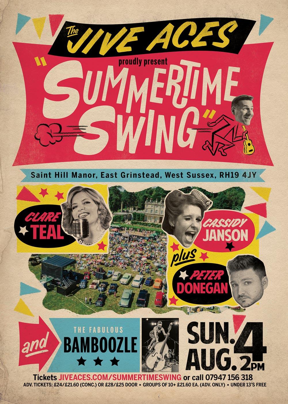 Summertime Swing flyer