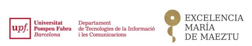 Programa María de Maeztu DTIC-UPF