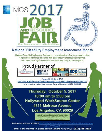 Disability Job Fair 2017