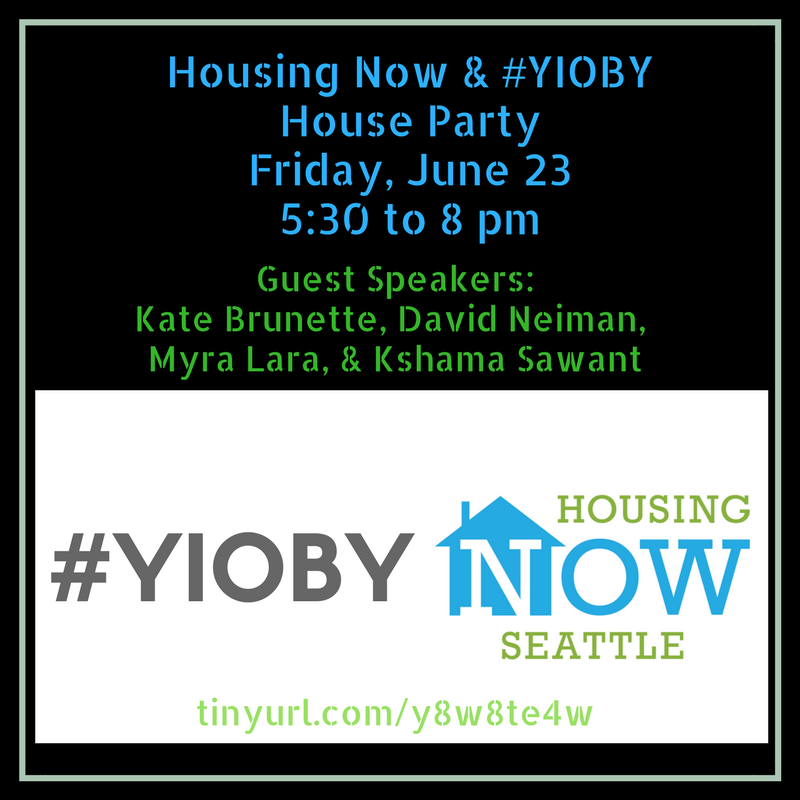 Housing Now & #YIOBY House Party