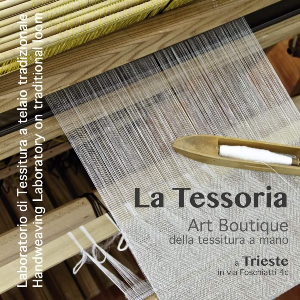 Tessitura a telaio tradizionale
