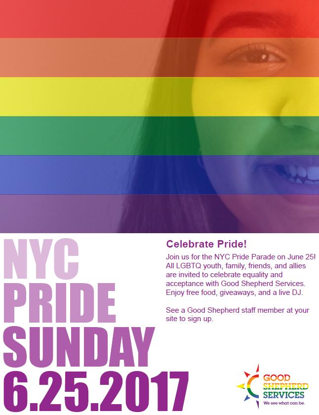 GSS Pride 2017 flyer