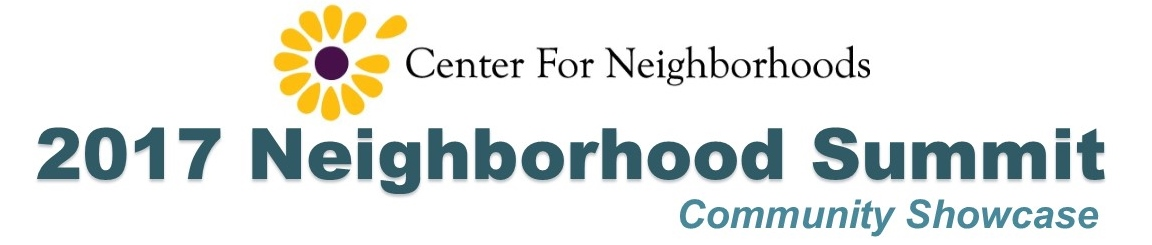 2017 Neighborhood Summit banner