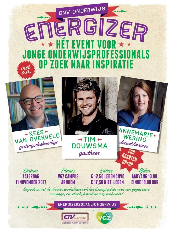 Poster Energizer CNV Onderwijs 2017