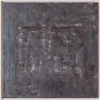 Katy Green, Shadow Tendrils 2, Wax on board, 64x64cm