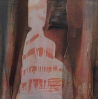Susan Absolon, No face girl, Oil on linen, 41 x 41 cm