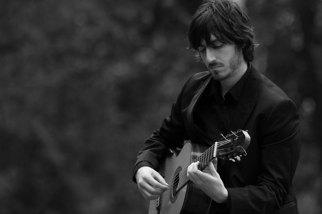 francesco barone classical guitaris at Wissahickon Valley Public Library
