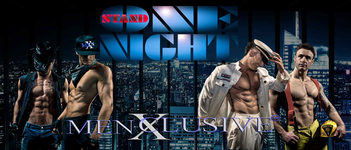 menxclusive magic mike one night stand tour