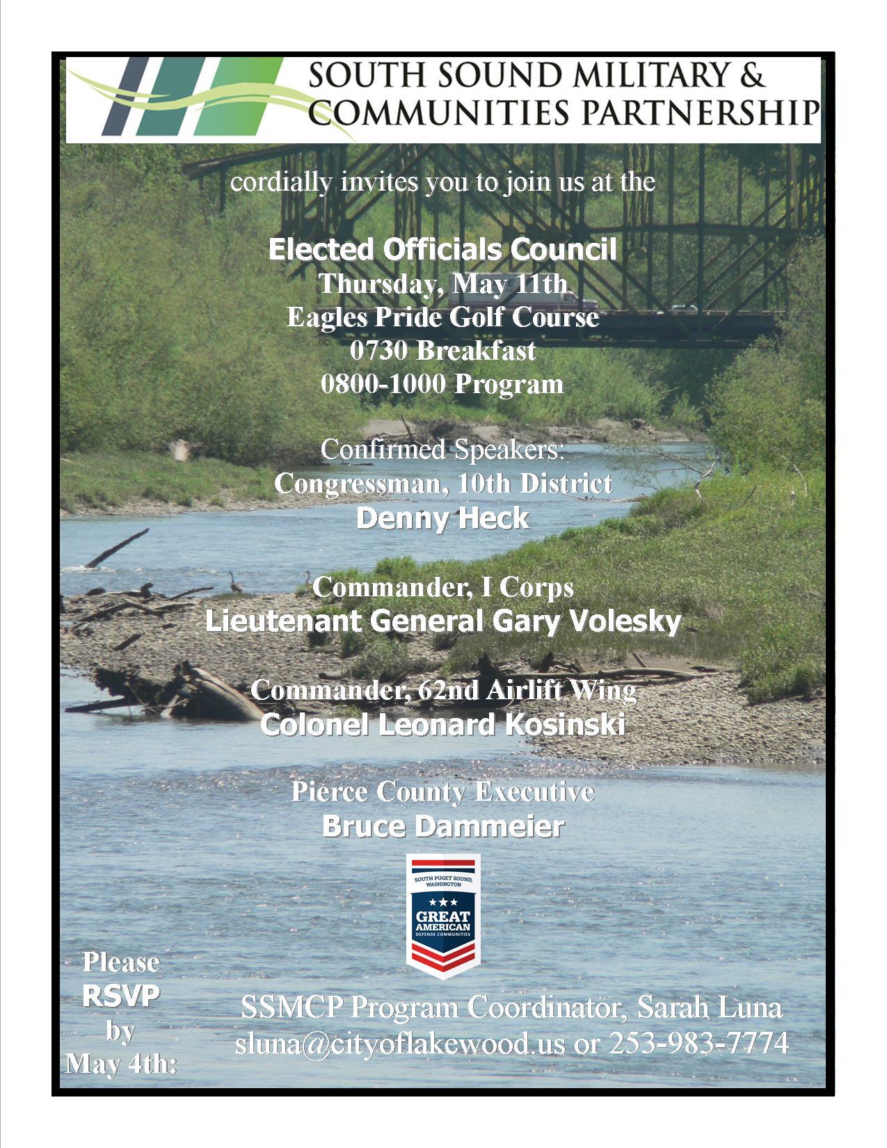 SSMCP Invite over picture of Nisqually Bridge