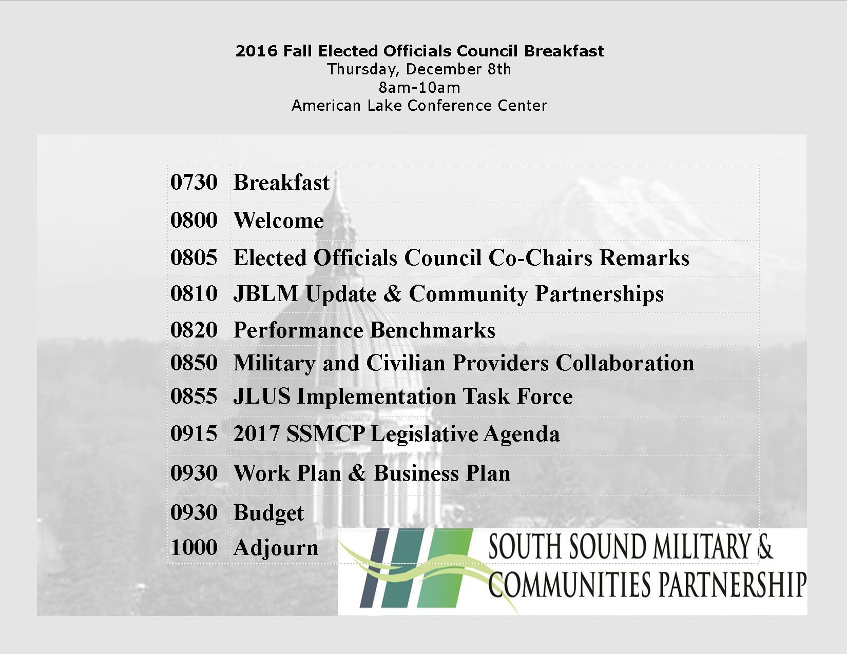Elected Officials Council Program