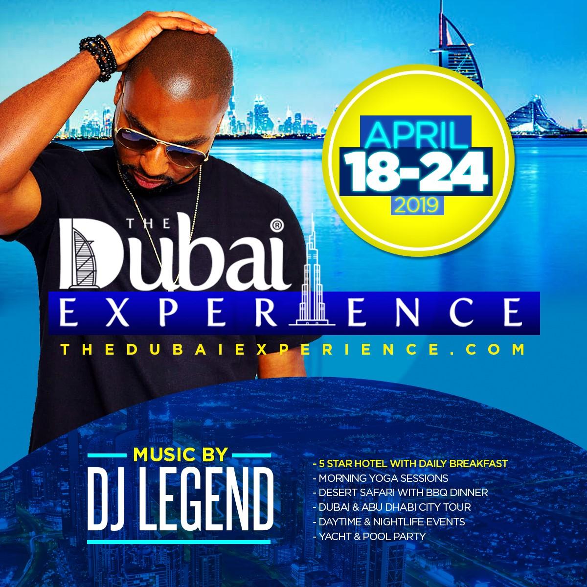 THE DUBAI EXPERIENCE 2019 AreYouVIP