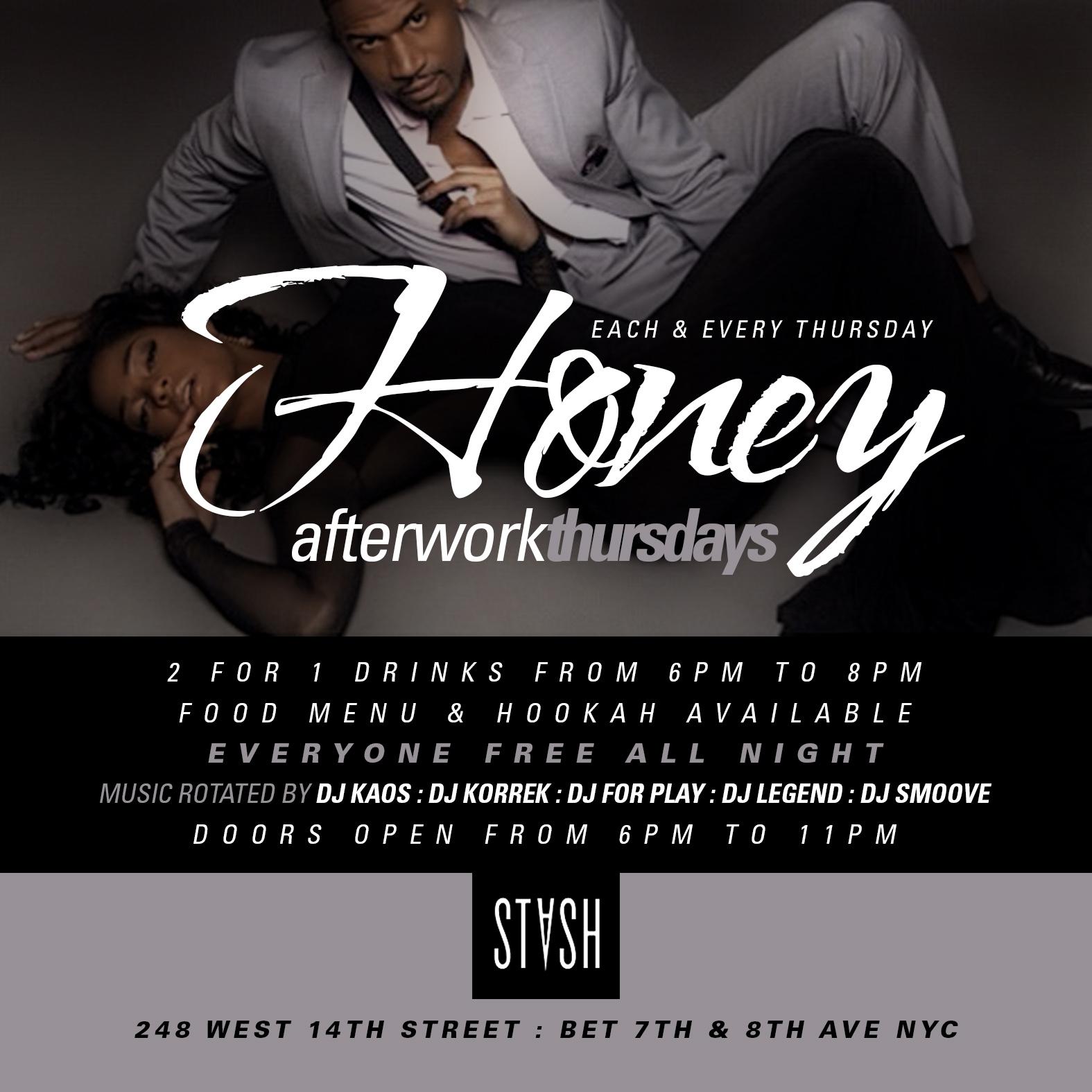 Honey_Afterwork_Thursdays