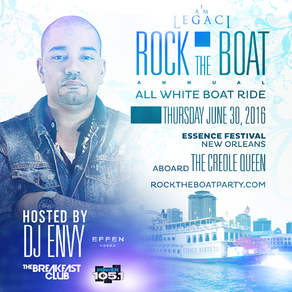 Iam A Rider Song: ROCK THE BOAT 2016 THE ANNUAL ALL WHITE BOAT RIDE PARTY
