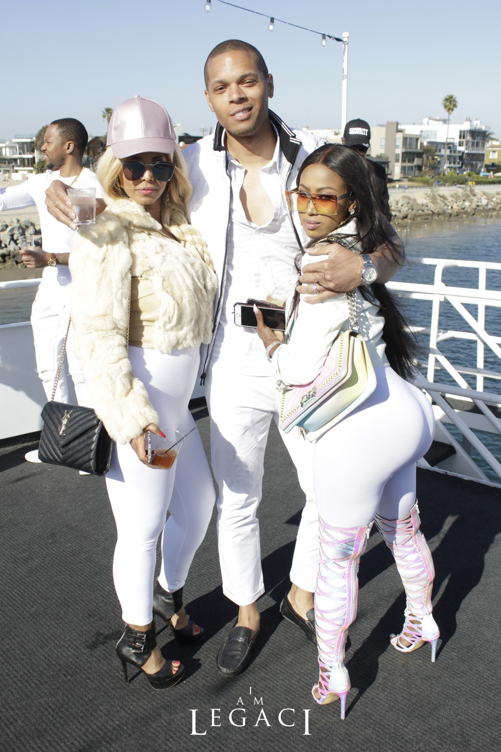 ROCK THE YACHT BET AWARDS WEEKEND 2018 ALL WHITE YACHT ...