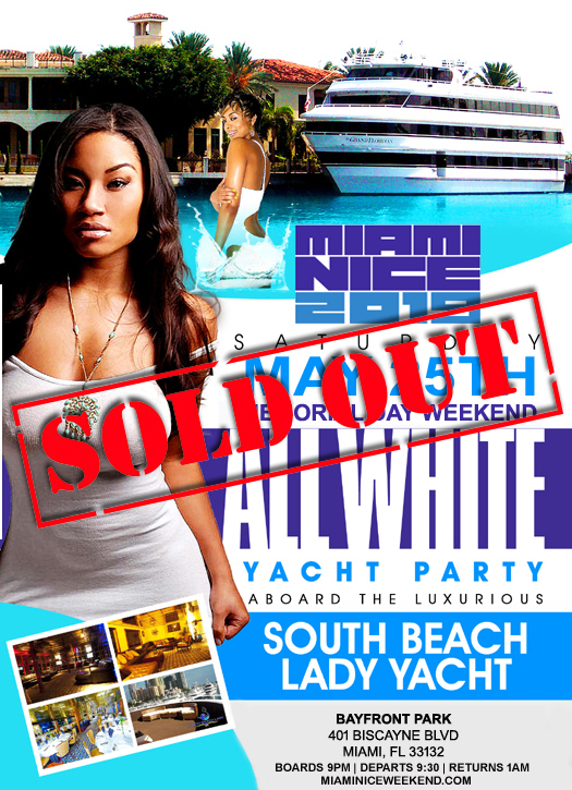 miami nice 2019 memorial day weekend annual all white yacht party tickets sat may 25 2019 at. Black Bedroom Furniture Sets. Home Design Ideas
