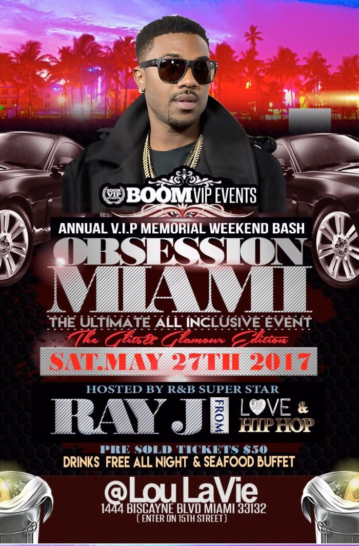 miami memorial day weekend 2017 info on all the hottest parties and events tickets thu may 25. Black Bedroom Furniture Sets. Home Design Ideas