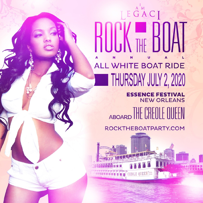Ride Festival 2020 ROCK THE BOAT 2020 THE 8th ANNUAL ALL WHITE BOAT RIDE PARTY DURING