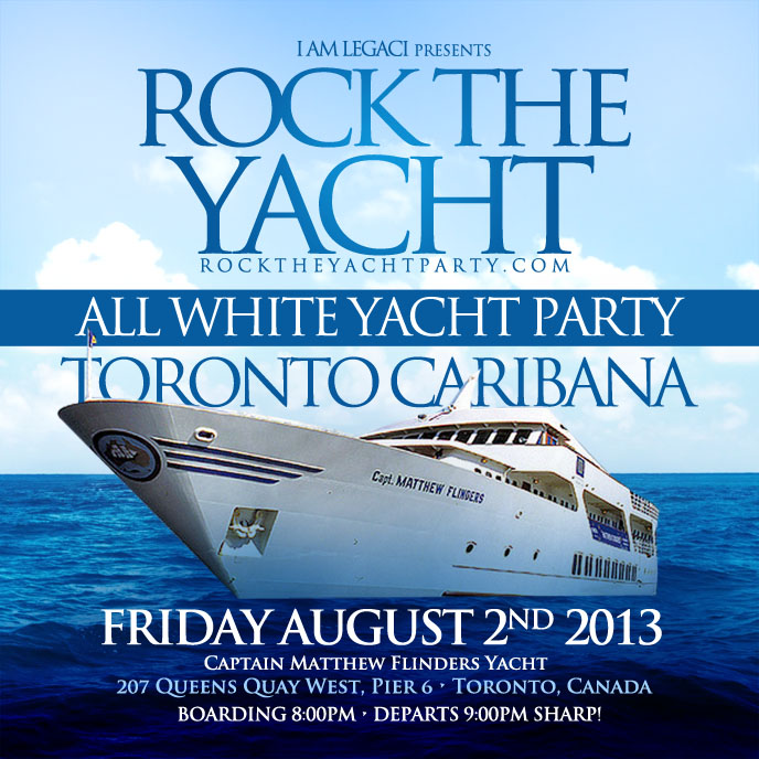 Birthday Party Yacht: ROCK THE YACHT TORONTO CARIBANA CARIBBEAN CARNIVAL 2013