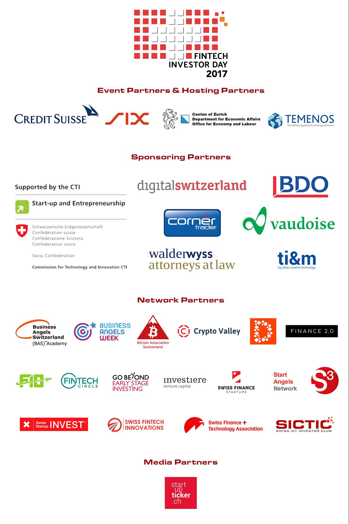 Swiss Fintech Investor Day Partners