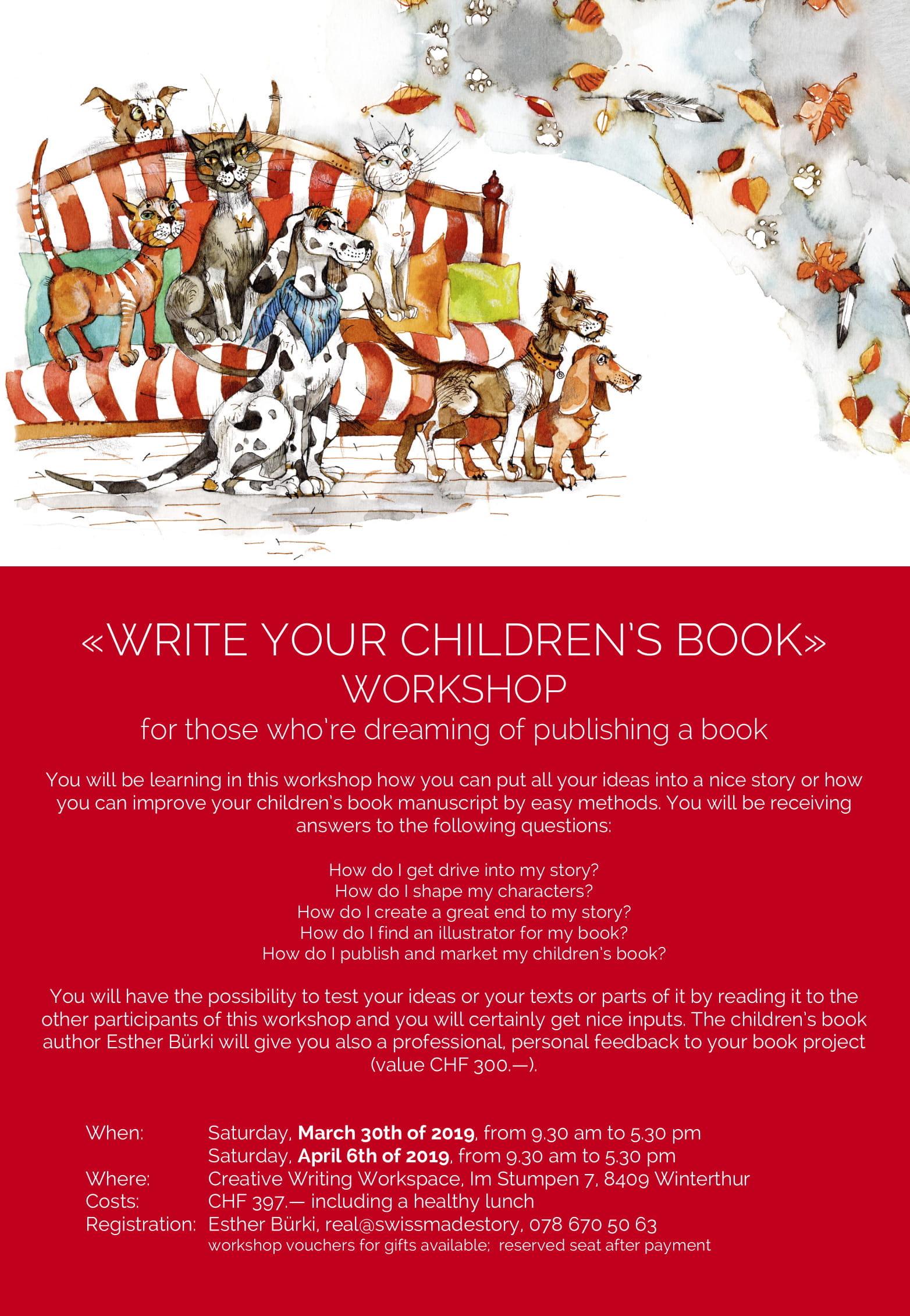 Seminar «Write Your Children's Book»
