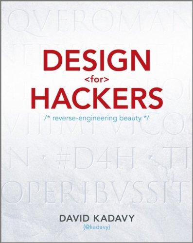 Design for Hackers David Kadavy Technori Live Chicago