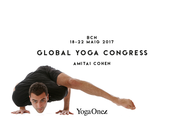 AMITAI EN GLOBAL YOGA CONGRESS BARCELONA