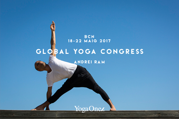 ANDREI RAM EN GLOBAL YOGA CONGRESS BARCELONA