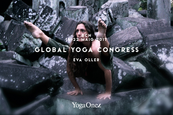 EVA OLLER EN GLOBAL YOGA CONGRESS BARCELONA