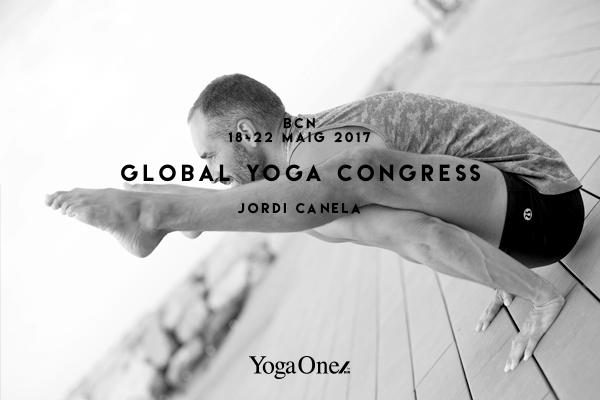 JORDI CANELA EN GLOBAL YOGA CONGRESS BARCELONA