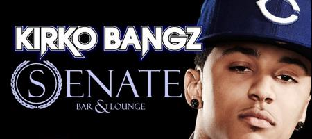 *All Star Weekend* KIRKO BANGZ ((LIVE)) @ SENATE LOUNGE...