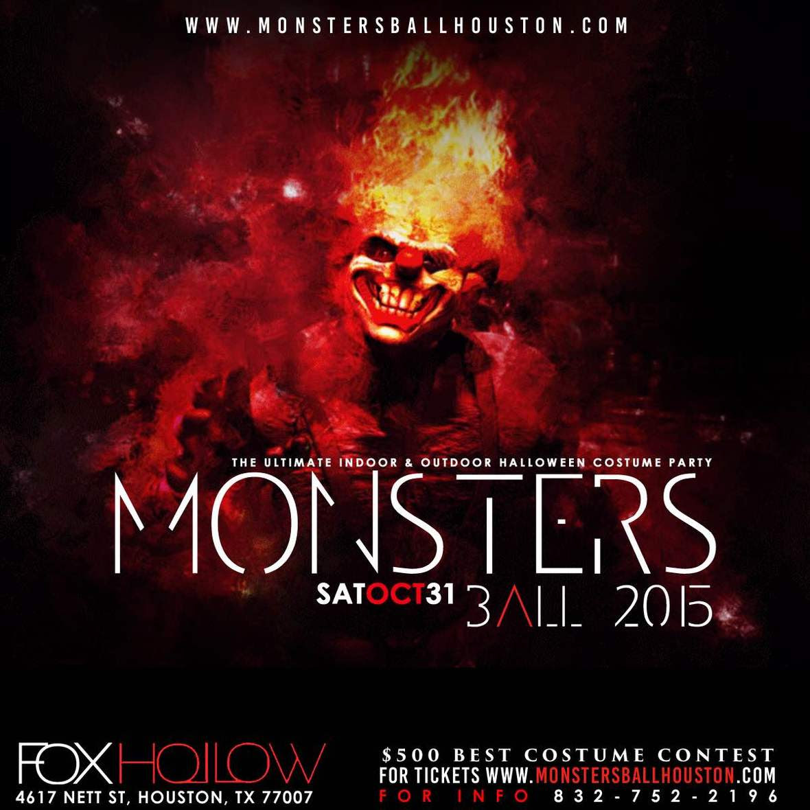 MONSTERS BALL Saturday OCT 28th | *The Ultimate Halloween Costume ...