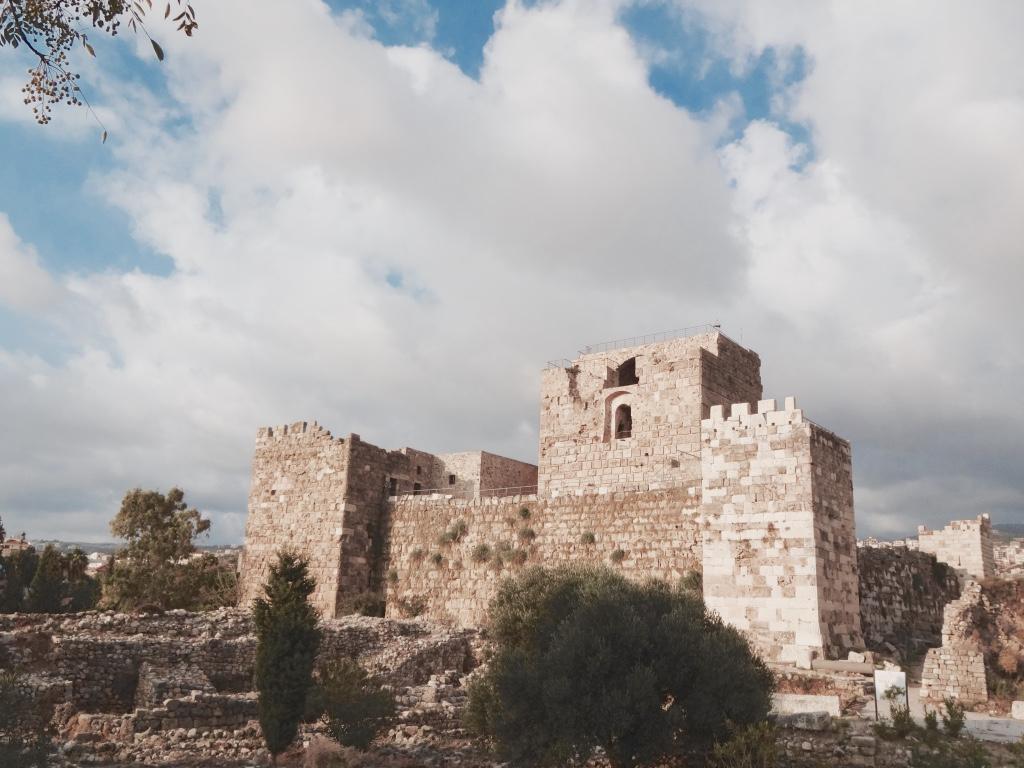 Le fort Croisé de Byblos