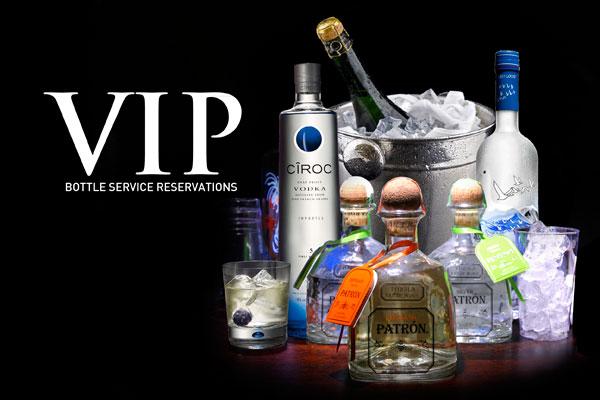 VIP BOTTLE RESERVATIONS