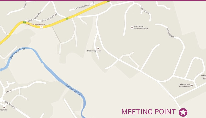 Location of meeting point for Mushroom Foraging